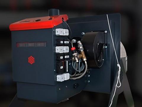 Новая пеллетная горелка Pelltech PV 1500